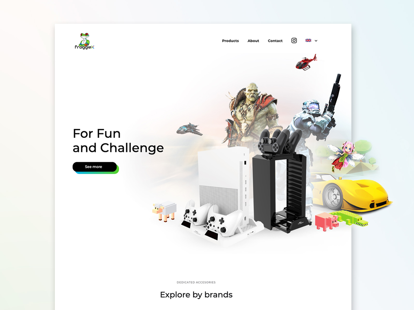 FroggieX website