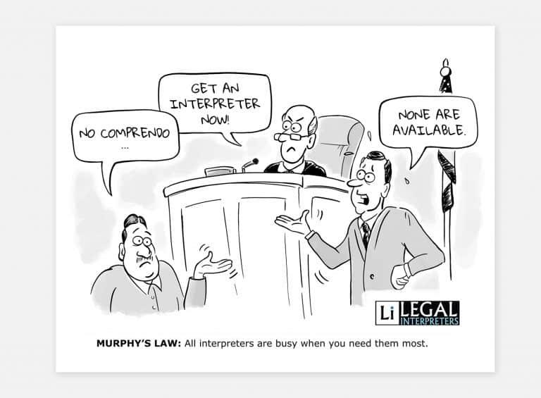 Satirical cartoon for company