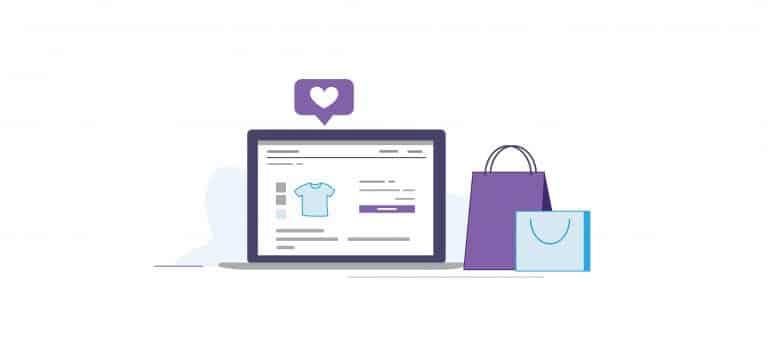 e-Commerce illustrations for e-book