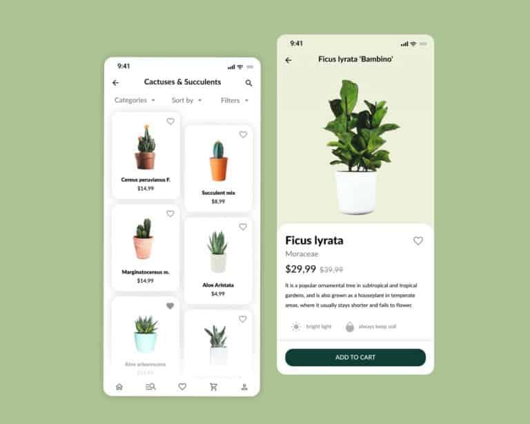 Plant Store – PWA e-Commerce