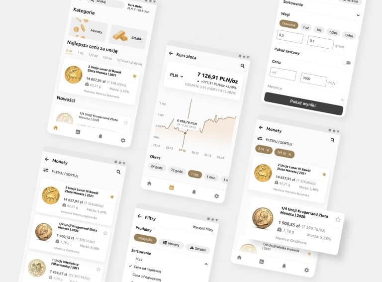Goldpare – app for investors